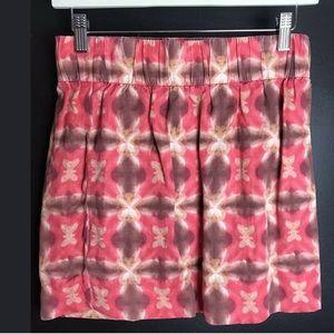 J. Crew Skirts - 👜 J. CREW Wednesday Tie Dye Mini Skirt Pink